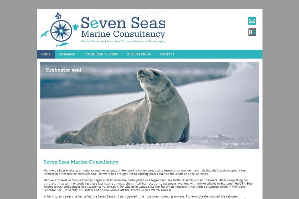 website Seven Seas Marine Consultancy